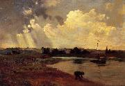 Charles-Francois Daubigny The Banks of the River oil painting picture wholesale