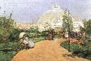 Childe Hassam The Chicago Exhibition, Crystal Palace oil painting picture wholesale
