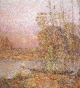 Childe Hassam Late Afternoon Sunset oil painting picture wholesale