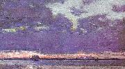 Childe Hassam Isles of Shoals at Dusk oil painting picture wholesale