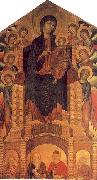 Cimabue The Santa Trinita Madonna oil