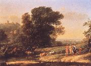 Claude Lorrain Landscape with Cephalus and Procris Reunited by Diana sdf oil painting artist
