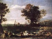 Claude Lorrain The Rape of Europa sd oil painting artist
