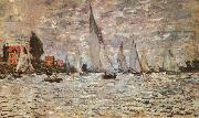 Claude Monet Regatta at Argenteuil oil painting picture wholesale