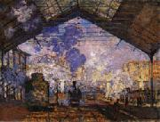 Claude Monet Gare Saint-Lazare oil painting picture wholesale