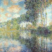 Claude Monet Poplars on Bank of River Epte oil painting artist