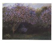 Claude Monet Les Repos Sous Les Lilas oil painting picture wholesale