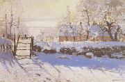 Claude Monet The Magpie oil painting artist