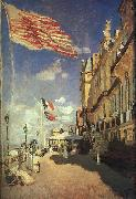 Claude Monet The Hotel des Roches Noires at Trouville oil painting picture wholesale