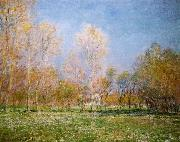 Claude Monet Springtime at Giverny oil painting picture wholesale