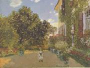 Claude Monet Artist s House at Argenteuil  gggg oil painting picture wholesale