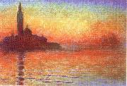 Claude Monet San Giorgio Maggiore at Dusk oil painting picture wholesale