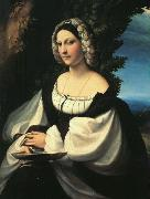 Correggio Portrait of a Gentlewoman France oil painting reproduction