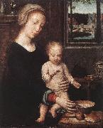 DAVID, Gerard Madonna and Child with the Milk Soup dgw oil painting picture wholesale