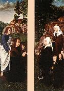 DAVID, Gerard Triptych of Jean Des Trompes (side panels) dfg oil painting picture wholesale