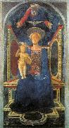 DOMENICO VENEZIANO Madonna and Child sd oil painting artist