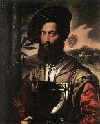 DOSSI, Dosso Portrait of a Warrior sd oil painting picture wholesale