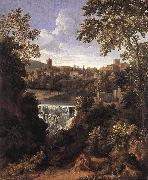 DUGHET, Gaspard The Falls of Tivoli dfg oil painting picture wholesale