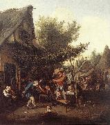 DUSART, Cornelis Village Feast dfg oil painting picture wholesale