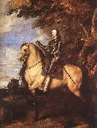 DYCK, Sir Anthony Van Charles I on Horseback fg oil painting picture wholesale