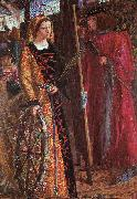 Dante Gabriel Rossetti Saint Catherine oil painting picture wholesale