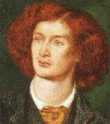Dante Gabriel Rossetti Portrait of Algernon Swinburne oil painting picture wholesale