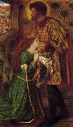Dante Gabriel Rossetti St. George and the Princess Sabra oil painting picture wholesale