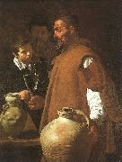 Diego Velazquez The Waterseller of Seville oil painting artist