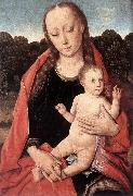 Dieric Bouts The Virgin and Child Panel oil