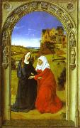 Dieric Bouts The Visitation. oil