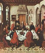 Dieric Bouts The Last Supper oil painting artist