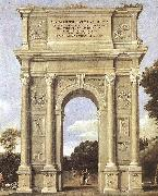 Domenichino A Triumphal Arch of Allegories dfa oil painting picture wholesale