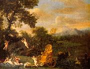 Domenichino The Repose of Venus oil painting
