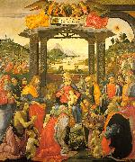 Domenico Ghirlandaio Adoration of the Magi   qq oil painting picture wholesale
