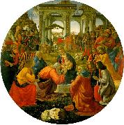 Domenico Ghirlandaio The Adoration of the Magi  aa oil painting picture wholesale