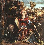 Dosso Dossi Circe oil painting artist