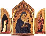 Duccio di Buoninsegna Triptych dfg oil painting picture wholesale