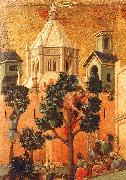 Duccio di Buoninsegna Entry into Jerusalem France oil painting reproduction
