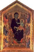 Duccio The Rucellai Madonna oil painting artist