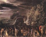 ELSHEIMER, Adam St Paul at Malta  vet oil