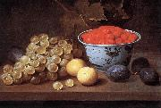 ES, Jacob van Still-Life with Fruit  dg oil painting artist