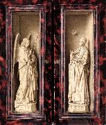 EYCK, Jan van Small Triptych (outer panels) rt oil painting picture wholesale
