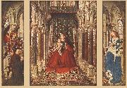 EYCK, Jan van Small Triptych ssf oil painting picture wholesale
