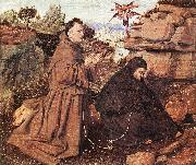 EYCK, Jan van Stigmatization of St Francis df oil painting artist