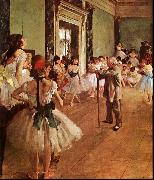 Edgar Degas The Dance Class France oil painting reproduction