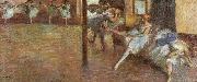 Edgar Degas Ballet Rehearsal oil painting picture wholesale