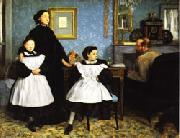 Edgar Degas Family Portrait(or the Bellelli Family) oil painting picture wholesale