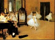 Edgar Degas Dance Class oil painting picture wholesale