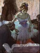 Edgar Degas Before the Entrance on Stage oil painting picture wholesale