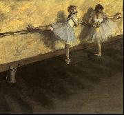 Edgar Degas Dancers Practicing at the Barre oil painting picture wholesale